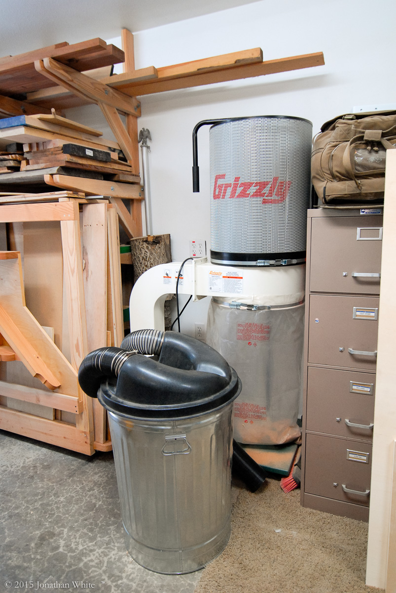 My current dust collector setup.