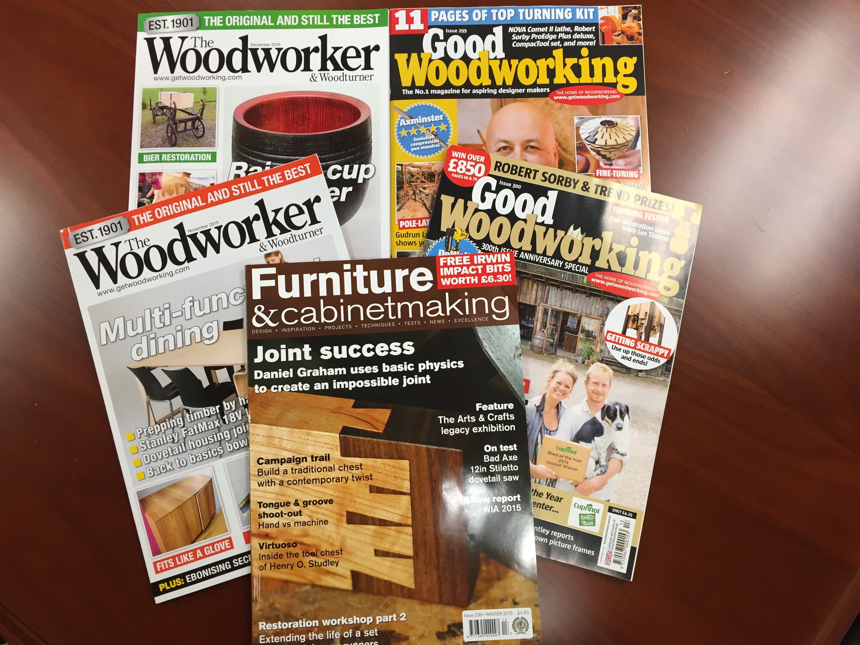 English Woodworking Magazines The Bench Blog