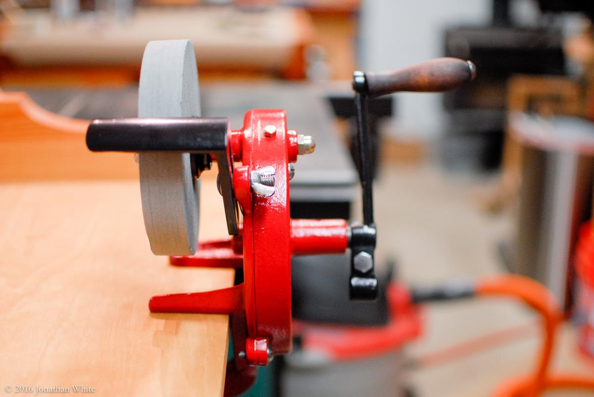 Tool Restoration Hand Cranked Grinder The Bench Blog